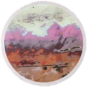 Ap24 O Round Beach Towel