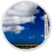 Apigroo Lighthouse Round Beach Towel