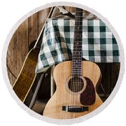 Appalachian Music Round Beach Towel