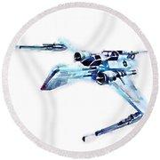 Arc-170 Starfighter Round Beach Towel