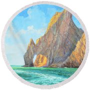 The Arch Of Cabo San Lucas 1 Round Beach Towel