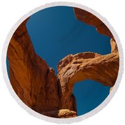 Arches Np Round Beach Towel