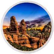 Arizona Life Round Beach Towel