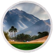 Arizona Sunrise Golfing Round Beach Towel