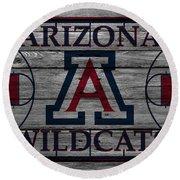 Arizona Wildcats Round Beach Towel