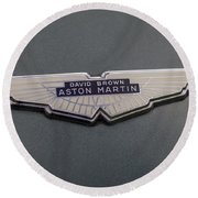 Aston Martin Round Beach Towel