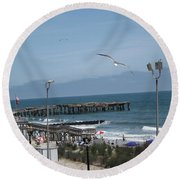 Atlantic City 2009 Round Beach Towel