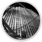 Atlas Rockefeller Center Round Beach Towel