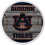Auburn Tigers Round Beach Towel