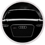 Audi Rs5 Round Beach Towel