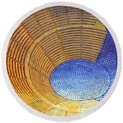 Auditorium Round Beach Towel