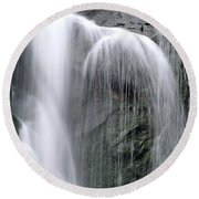 Australian Waterfall 3 Round Beach Towel