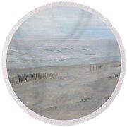 Avalon Mist Round Beach Towel