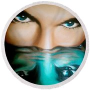 Avatar Round Beach Towel