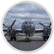 B29  Superfortress Round Beach Towel