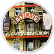 Baileys Irish Cream Round Beach Towel