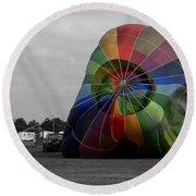 Balloon Fun Round Beach Towel