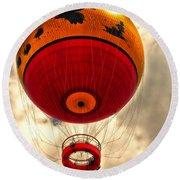 Balloon Ride Walt Disney World Fl Round Beach Towel