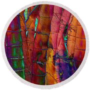 Bamboo Delight Round Beach Towel