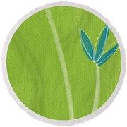 Bamboo Namaste Round Beach Towel