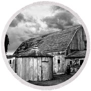 Barn 66 Round Beach Towel