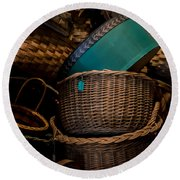 Baskets Galore Round Beach Towel