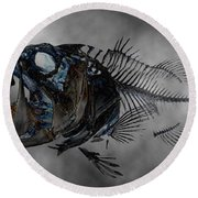 Bass Art Round Beach Towel