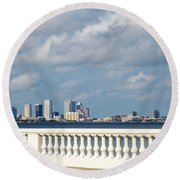Bayshore Round Beach Towel by Aimee L Maher Photography and Art Visit ALMGallerydotcom