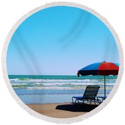 Beach Dreams Round Beach Towel