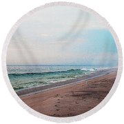 Beach Sentry Round Beach Towel