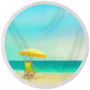 Got Beach? Round Beach Towel