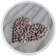 Beach Treasure Round Beach Towel