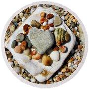 Beach Treasures Round Beach Towel