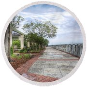 Beaufort - Sea Wall Round Beach Towel