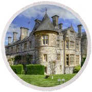 Beaulieu Round Beach Towel by Spikey Mouse Photography
