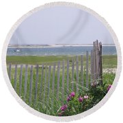 Beautiful Chatham Round Beach Towel