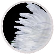 Round Beach Towel featuring the photograph Beauty In Contrast by Garvin Hunter