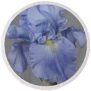 Round Beach Towel featuring the photograph Beauty Psalm by Christina Verdgeline