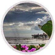 Beautyfulness Round Beach Towel