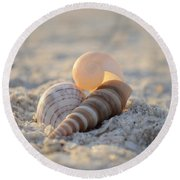 Beginning Again Round Beach Towel