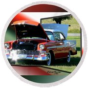 Bel Air 1950s-featured In Manufactured Items Group Round Beach Towel