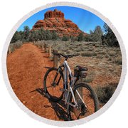 Bell Rock Trail Round Beach Towel