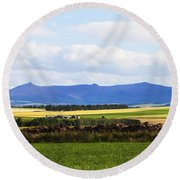 Bennachie Round Beach Towel
