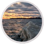Berg On Ontario Round Beach Towel