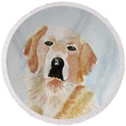 Best Friend 2 Round Beach Towel