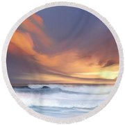 Round Beach Towel featuring the digital art Best Of Days by Anthony Fishburne