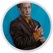 Better Call Saul Round Beach Towel
