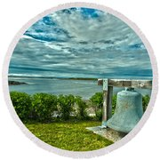 Biddeford Pool Bell Round Beach Towel