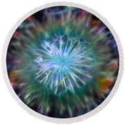 Big Bang Round Beach Towel by Stuart Turnbull