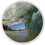 Big Beach Barrel Round Beach Towel by Brad Scott